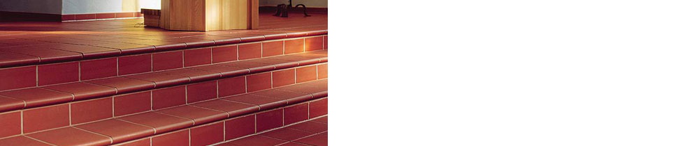 From our stair programHigh-quality unglazed colors stairs with high slip resistance.